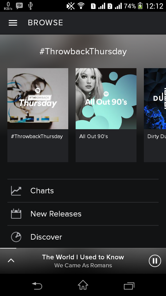 how to offline download spotify