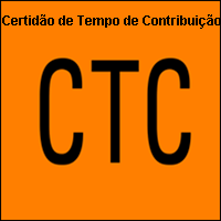 CTC Certidão de Tempo de Contribuição, INSS, Regime de Previdência