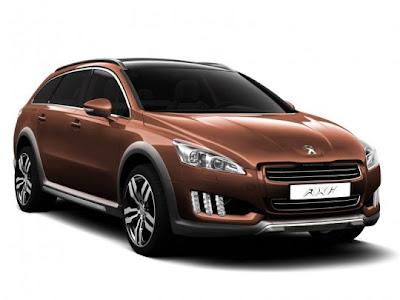 2012-Peugeot-508-RXH-Front-Side