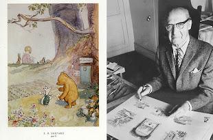Ernest Howard Shepard (d. 1879-ö. 1976, İngiltere)