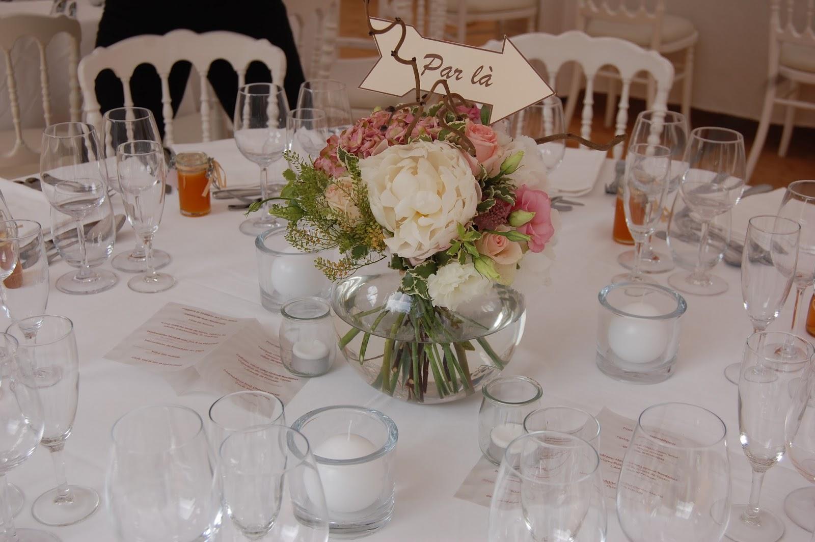 mariage blog centre de table pour mariage. Black Bedroom Furniture Sets. Home Design Ideas