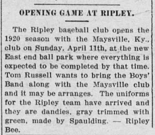 The Public Ledger, 25 March 1920, Maysville, Kentucky