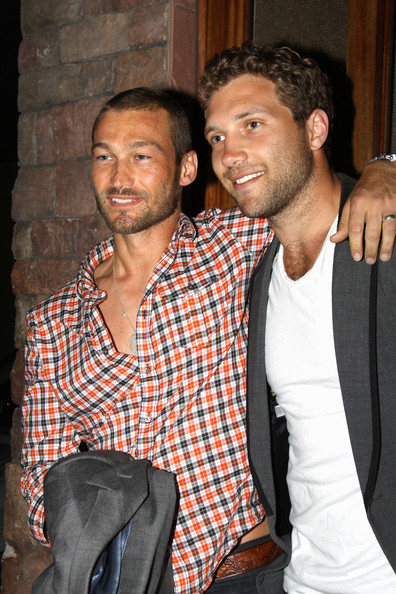 Andy Whitfield - Family and Friends