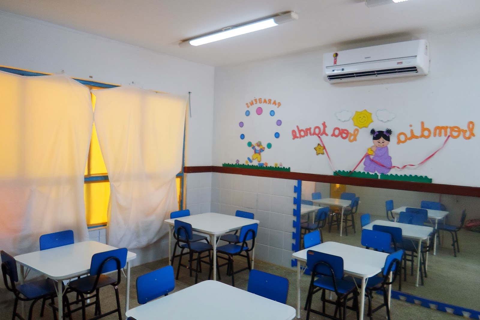 Imagens de #0E3679 ESTRUTURA DA CRECHE ~ CEI Ana Marcelo Antunes CEI AMA 1600x1066 px 3348 Bloco De Banheiro Para Deficiente Cad