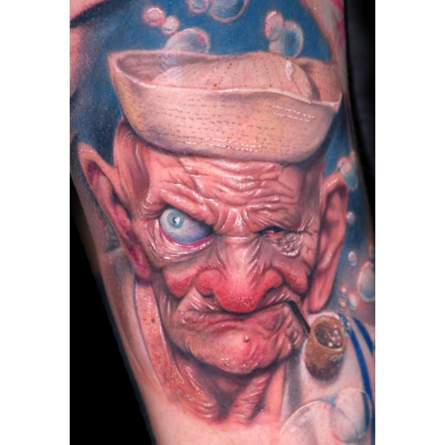 Realizar tatuaje de rostro realista tattoo tuto identi