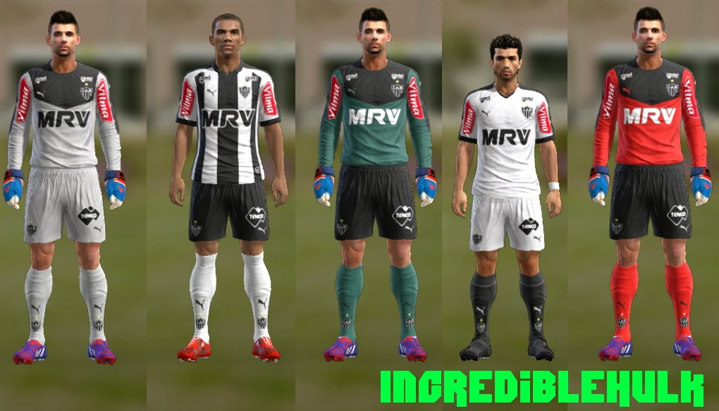 PES 2013 Atletico mineiro 2015/16 puma kits by incrediblehulk