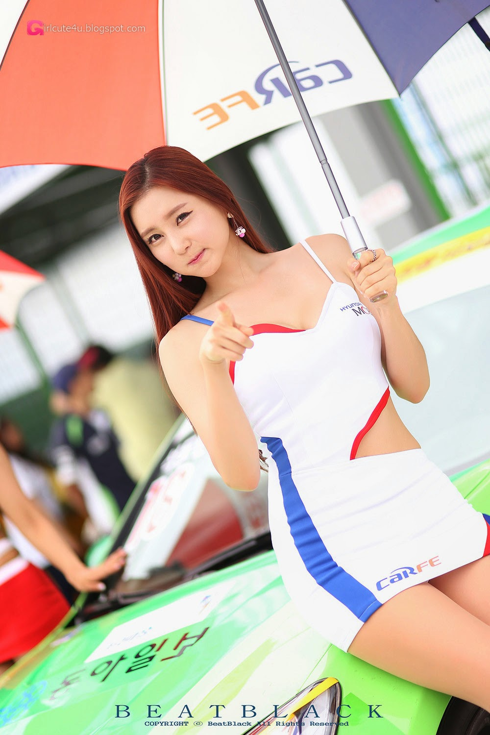 5 Choi Yu Jung - Korea Speed Festival 2014 - very cute asian girl-girlcute4u.blogspot.com