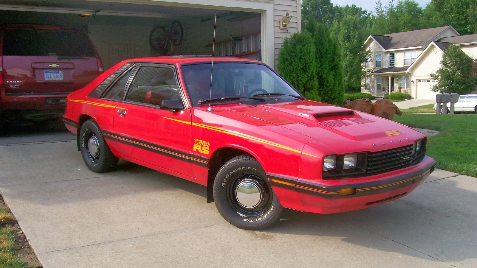 Daily turismo 5k what am i looking at 1979 mercury capri rs turbo with v8 swap