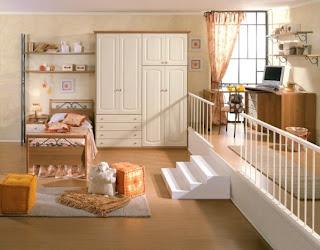Habitación clásica para niña