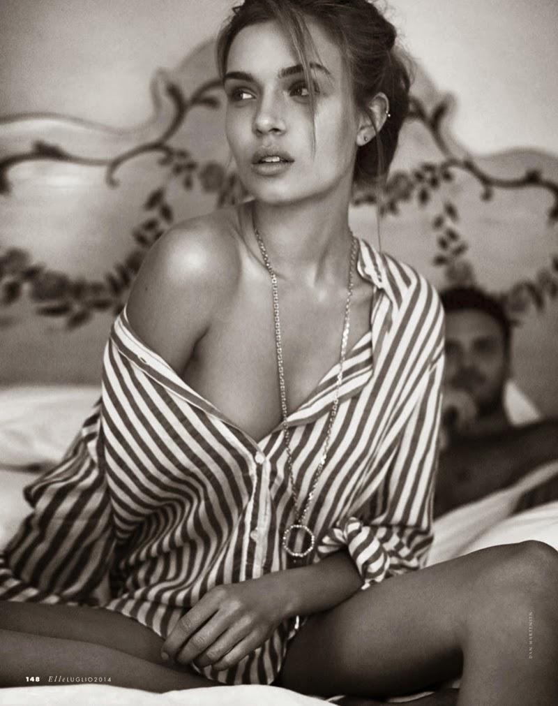 Josephine-Skriver-In-Love-ELLE-Italia-July-2014