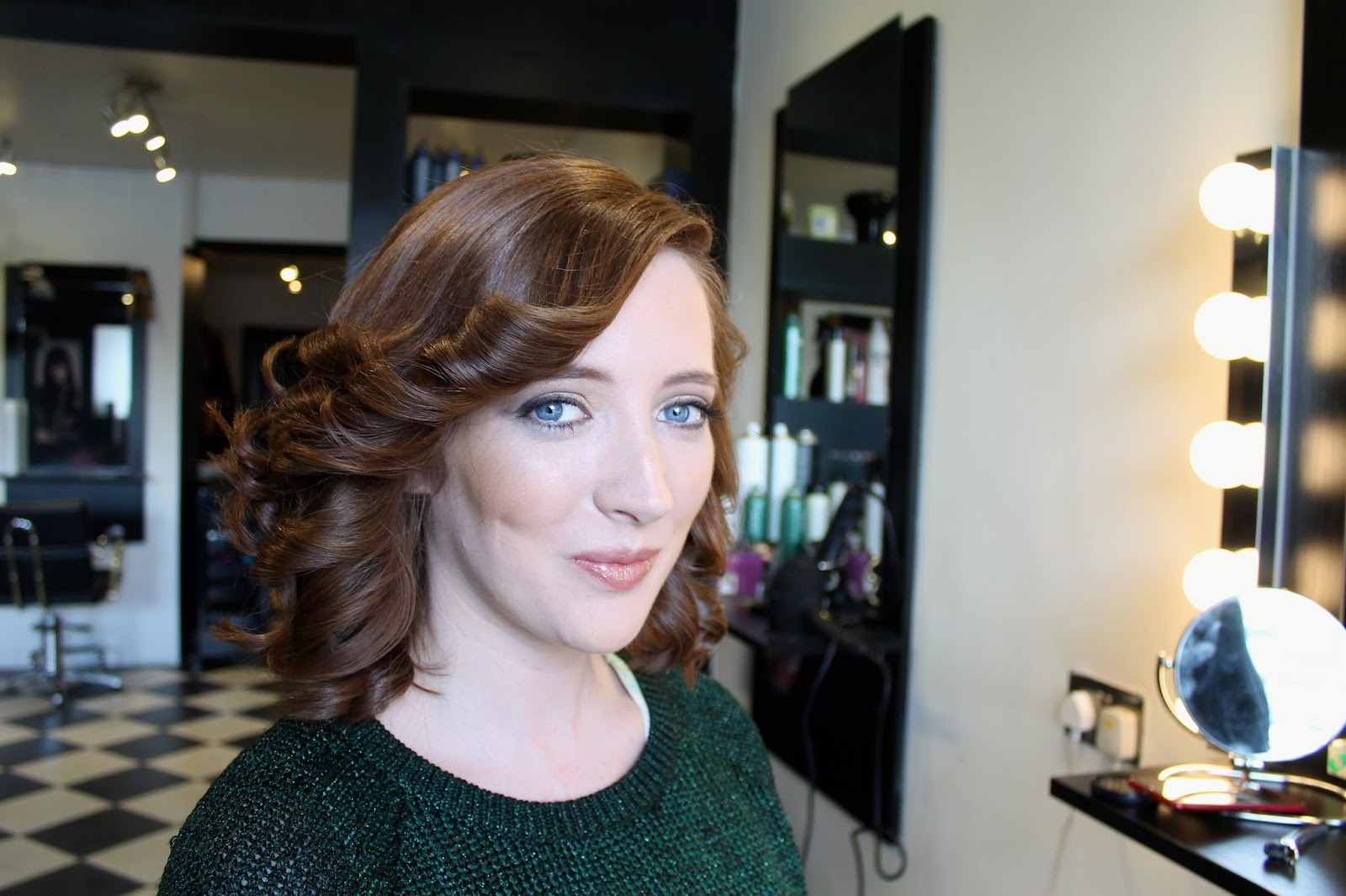 Bec Boop after her makeover in Prestige Salon Galway