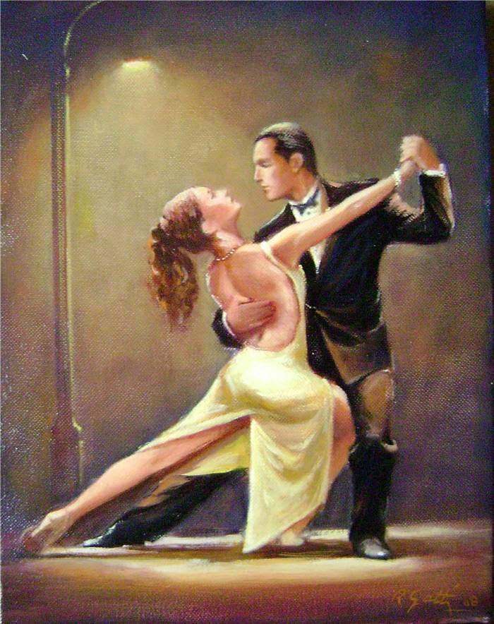 Resultado de imagen de bailando tango gif