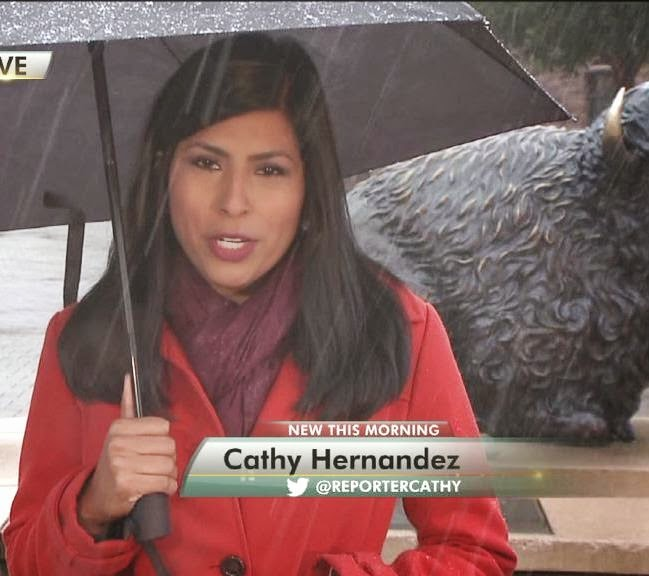 THE APPRECIATION OF BOOTED NEWS WOMEN BLOG : Cathy Hernandez