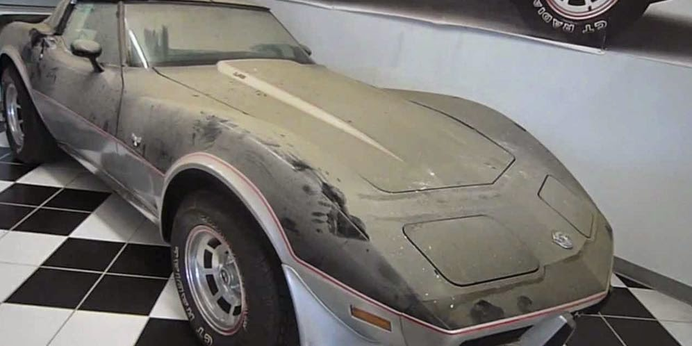 Rare Classic Supercar Found Dusty