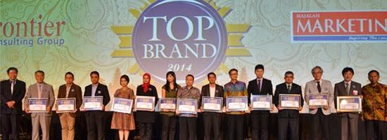 Penerima Top Brand 2014