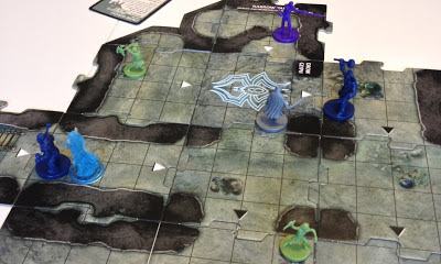 Legend of Drizzt Board Game Review cavern tiles