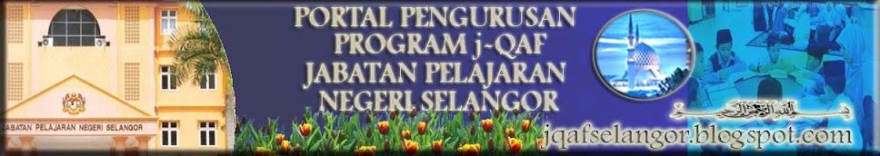 PORTAL PENGURUSAN PROGRAM j-QAF NEGERI SELANGOR