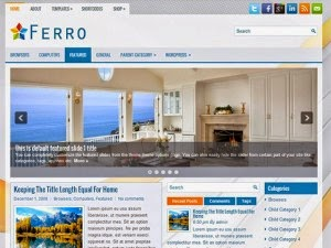 Ferro - Free Wordpress Theme