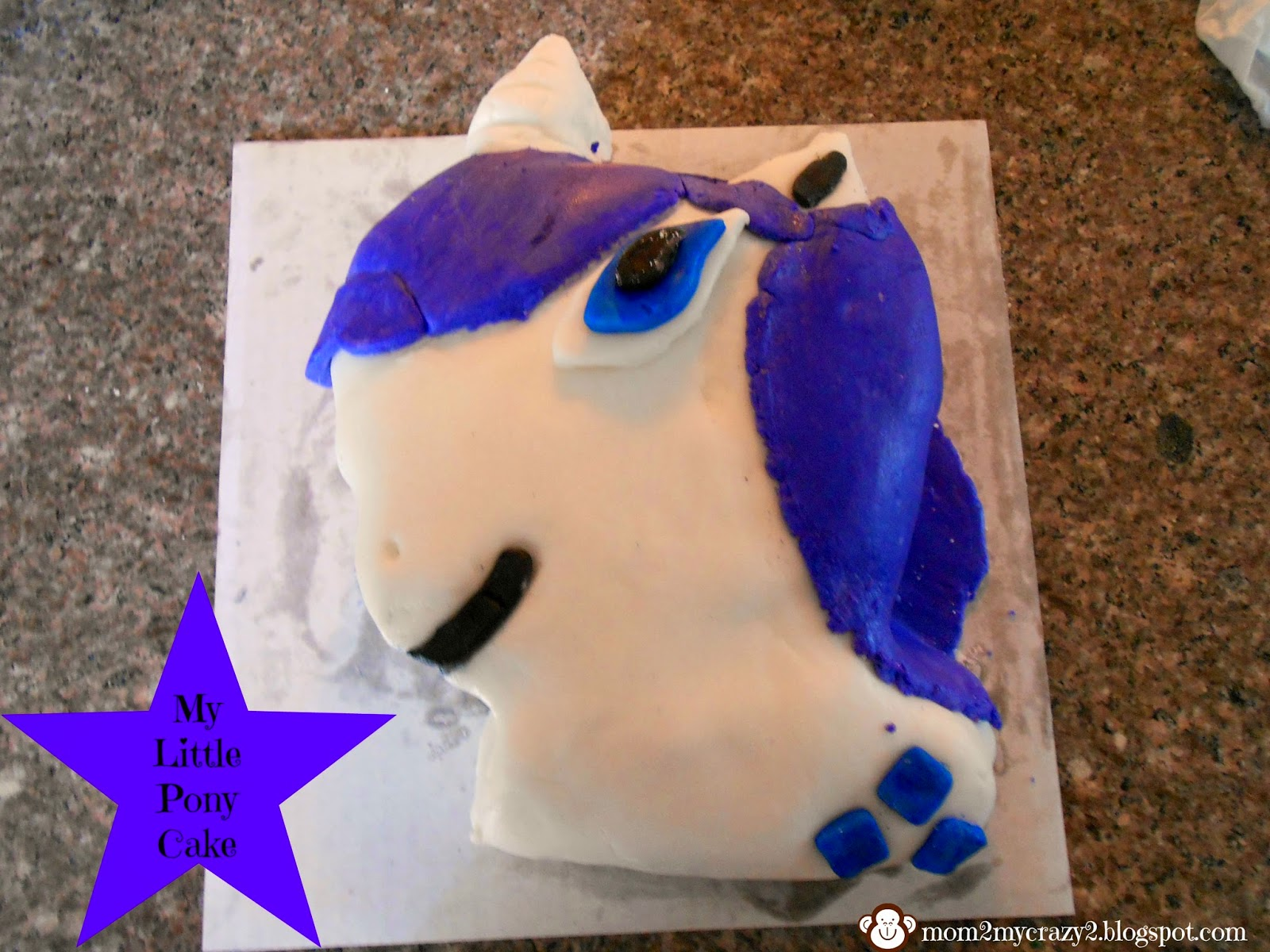 My Little Pony Cake Rarity