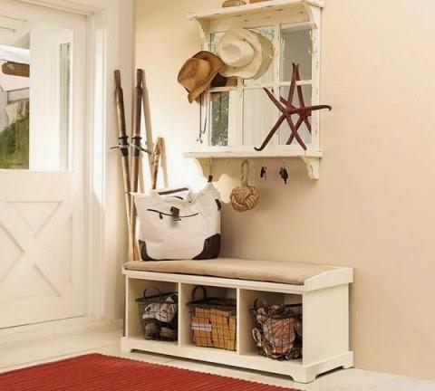 La maison 17 decoraci n interiorismo el recibidor i la for Espejo con almacenaje