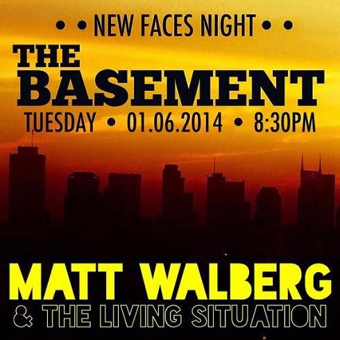 Matt Walberg & The Living Situation at The Basement