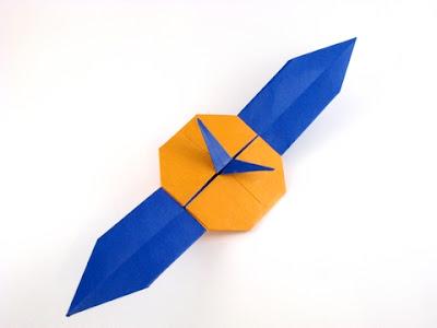 Origami Wrist Watch Trollip 2 3D