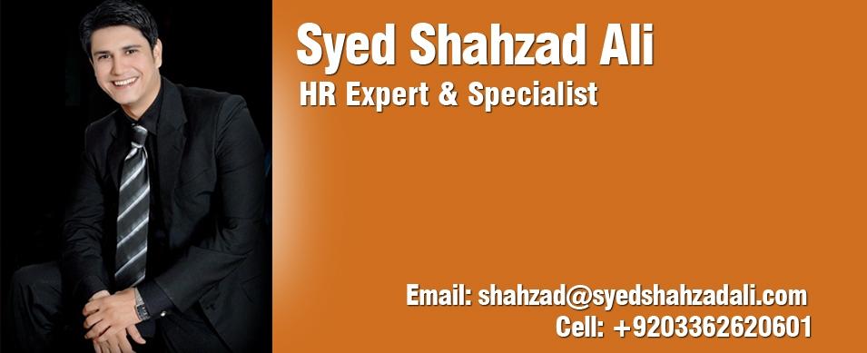 Syed Shahzad Ali - HR Expert & Specialist