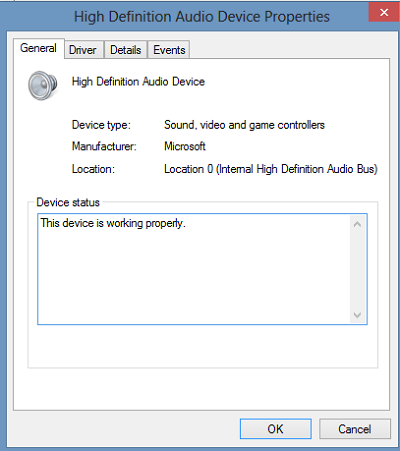 Khắc phục lỗi mất âm thanh trên Windows 8