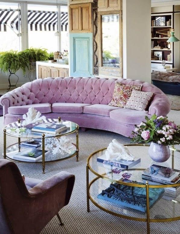 Un espacio glamuroso y femenino