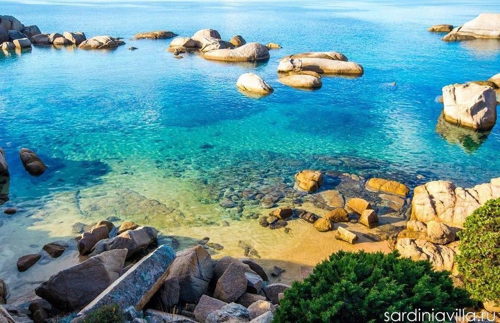 Температура воды на сардинии