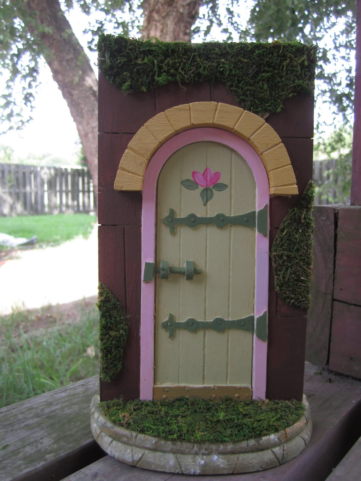Kidspired creations fairies only for Unfinished fairy door