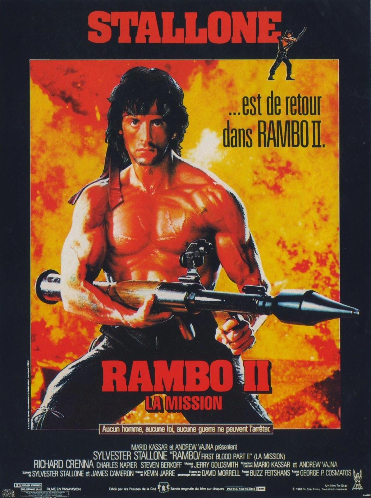 Rambo: First Blood Part II 1985