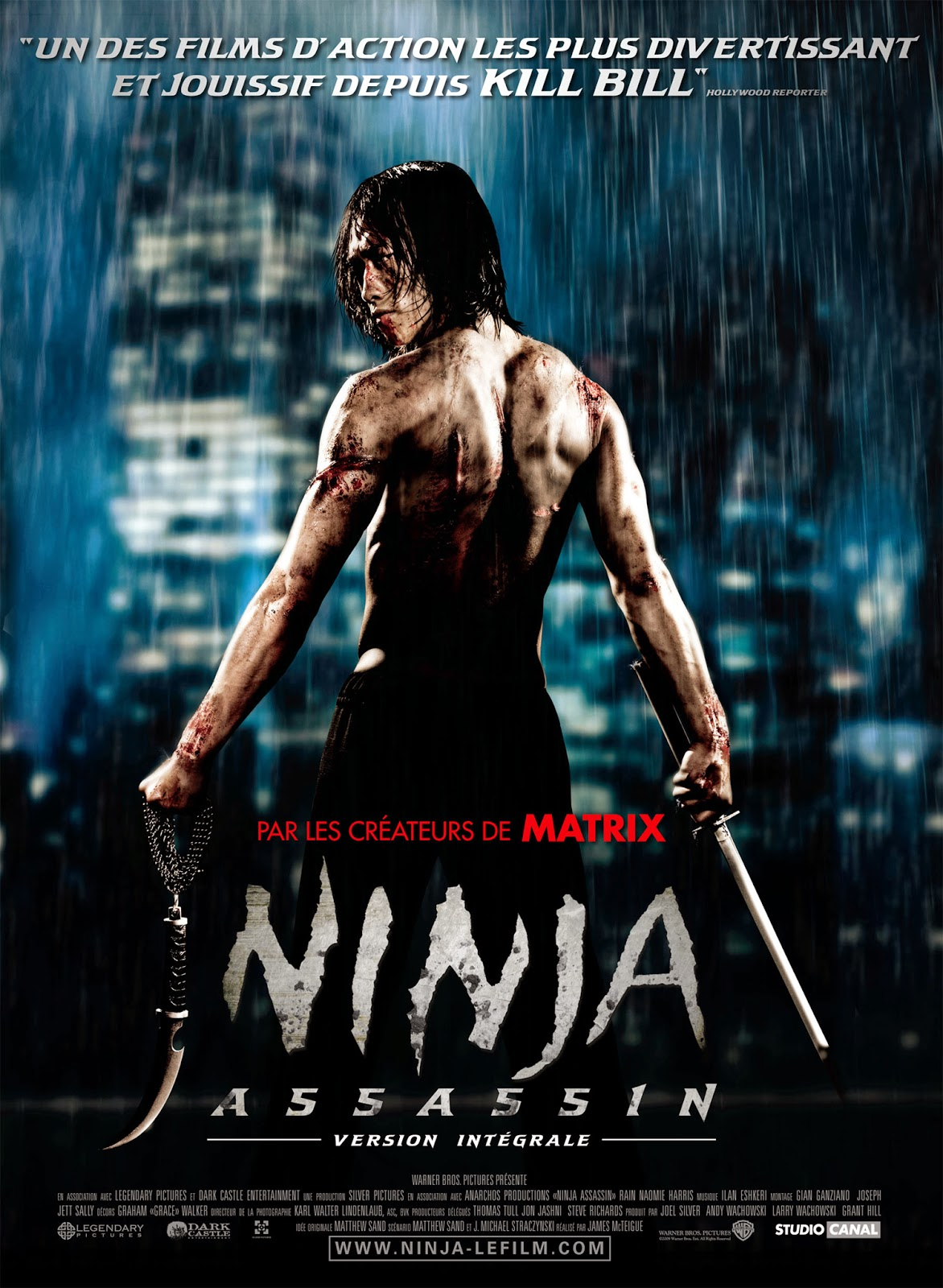 Ninja Sát Thủ - Ninja Assassin (2009) Poster