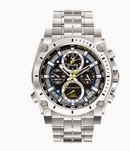 "Bulova Men's 96B175 ""Precisionist"" Stainless Steel Watch"