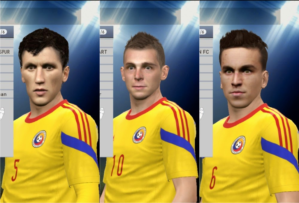 PES 2015 Romania Facepack by petryca90