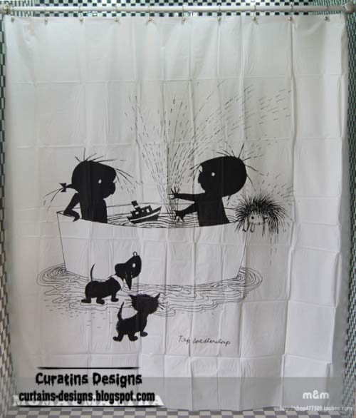 kids shower curtains styles creative design paris shower curtain style