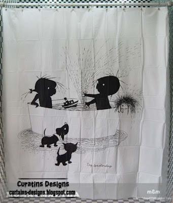 kids shower curtain styles models 30 Creative shower curtains unique designs, styles, photos 2