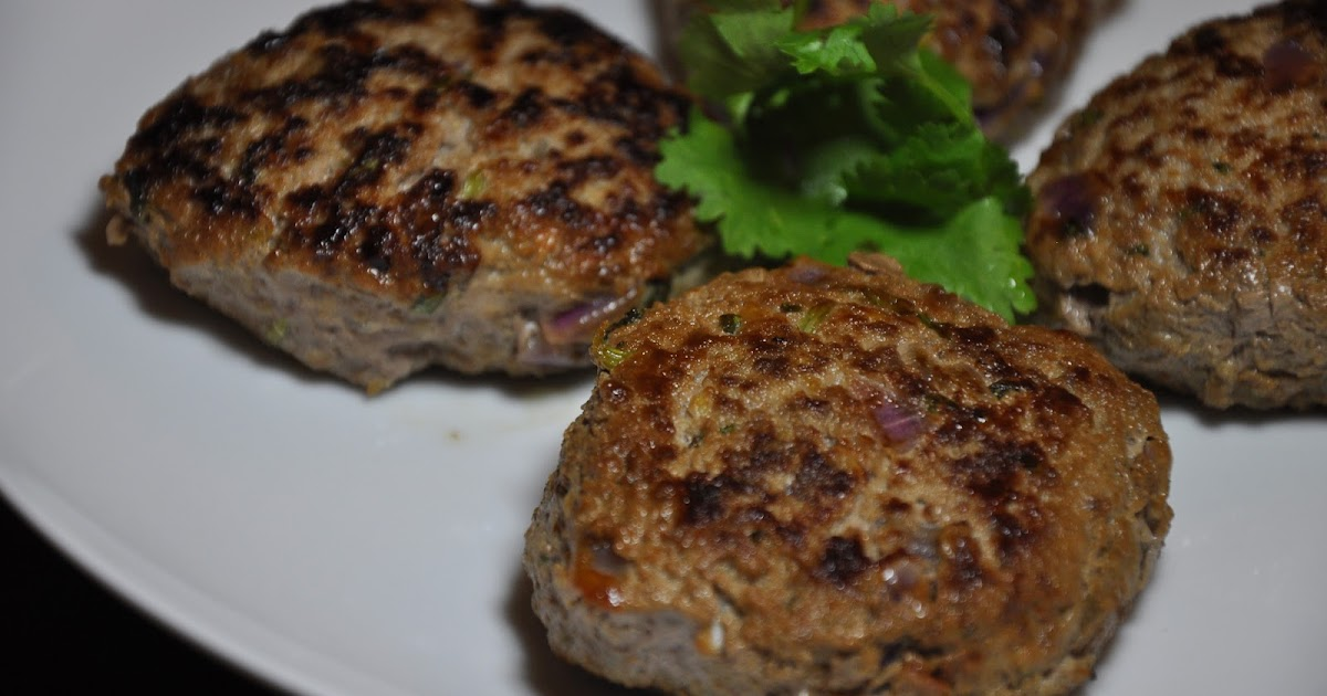 Slice of Rice: Cumin-Coriander Beef Patties and Green ...