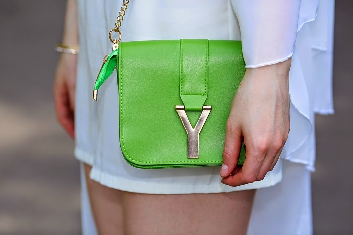 yesfor, green purse, shoulder bag, cheap purses