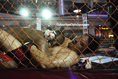 """MUHAMMAD BIG MO"""" SALIH vs EUGENIO DAUZ TAN Malaysian Fighting Championship 6 MMA"""