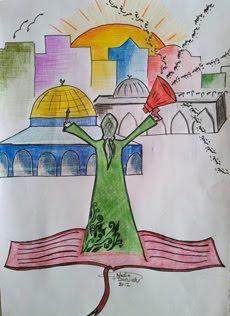 إهداء من الصديقة نادية درويش
