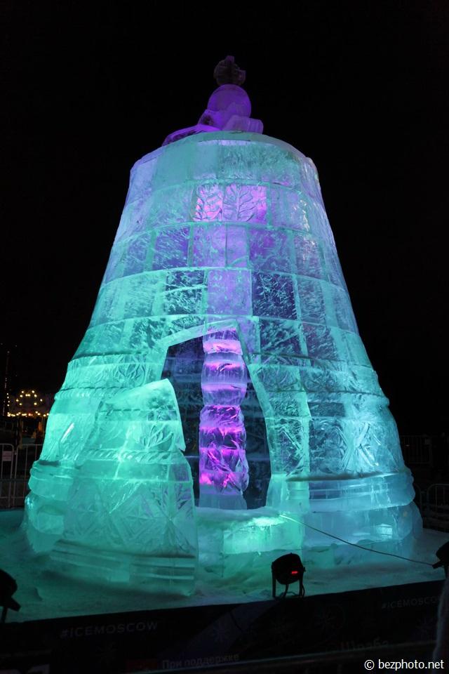 ледяные фигуры в москве 2016