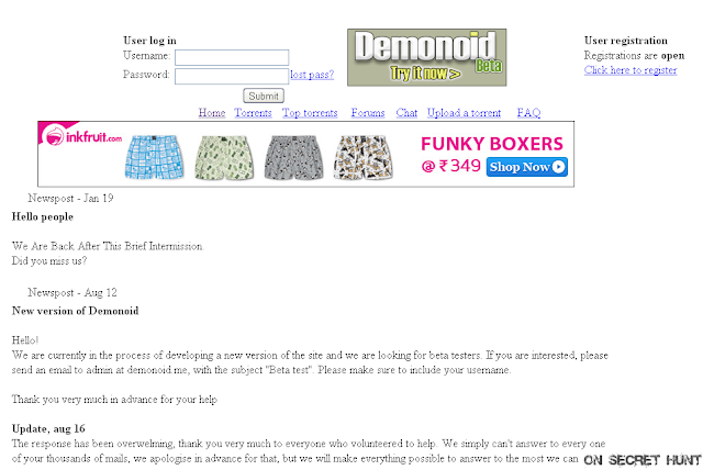demonoid Top 10 Best Torrent Websites Of 2012