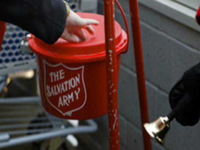 Salvation Army Kettle ~ El rrun the new warning giver beware