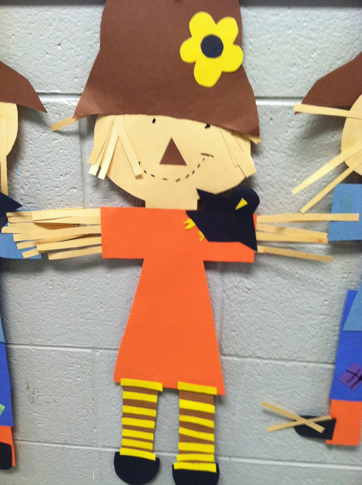 scarecrow crafts for preschoolers in grade a fox and a kit scarecrows and 844