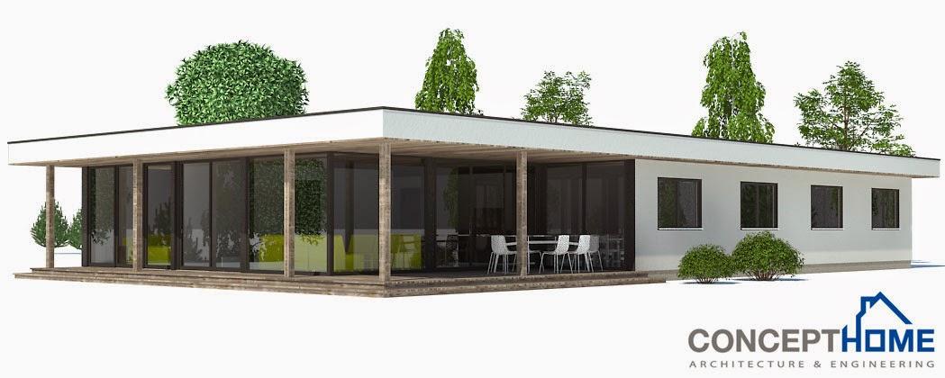 Plantas de casas modernas ch169 planta de casa moderna for Plantas de casas tipo 3 modernas