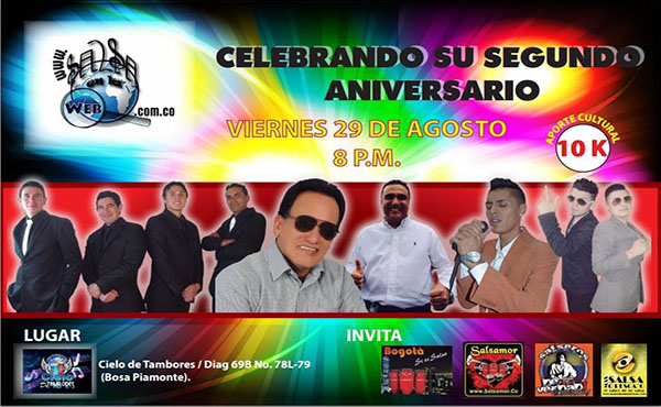 ► SalsaenlaWeb Celebra Su Segundo Aniversario