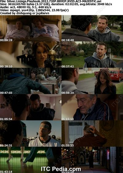Silver Linings Playbook (2012) 720P BRRip XviD AC3 - MAJESTIC