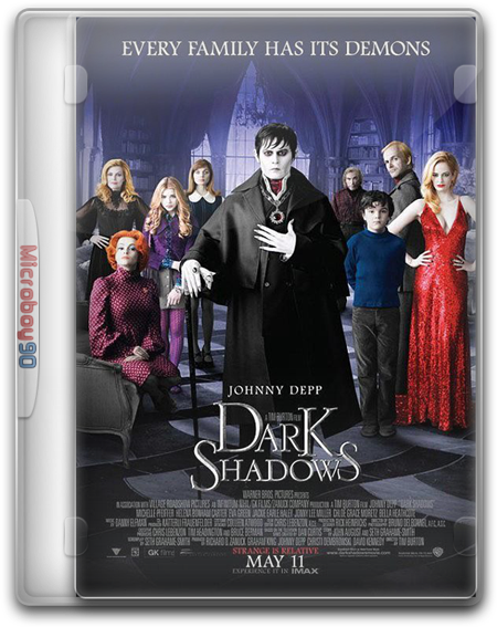 Dark Shadows (2012) DVDRip Español Latino