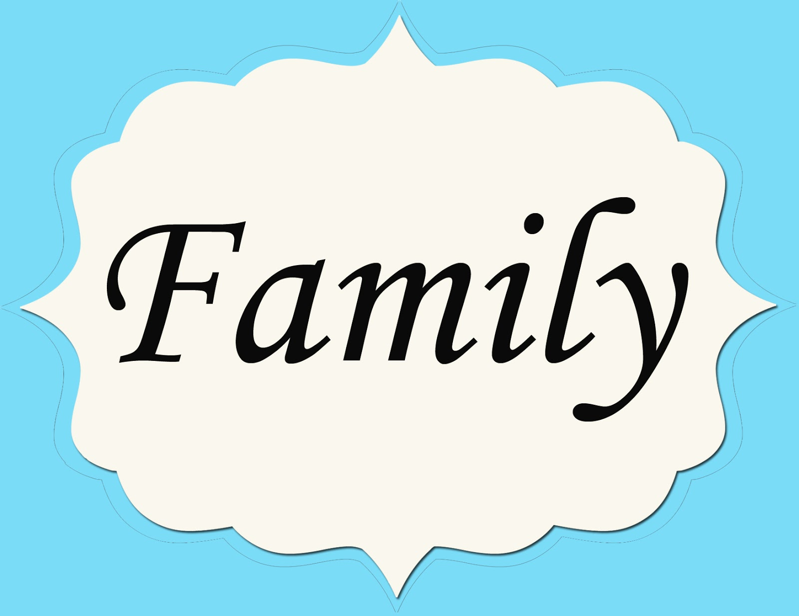 Displaying 19> Images For - The Word Family In Different Fonts...